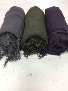 Chan Luu Cashmere Silk Scarves in gorgeous colors.