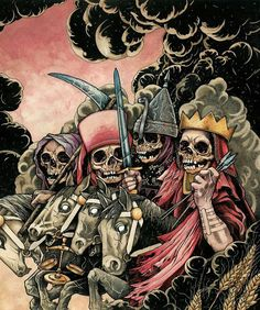 End of Days:  The #Four #Horsemen of the #Apocalypse.