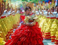 Free Christmas Invitation Templates, Christmas Invitations, Sinulog Festival, Festival Costumes, Cebu, Mcqueen, Ball Gowns, Formal Dresses, Reuse