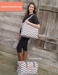 All About Taupe Chevron - Love all three of these!!