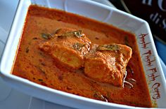 Tickle My Senses: Simple Hot and Sour Fish Curry without Coconut/ Amshi Tikshi Fish Curry-3