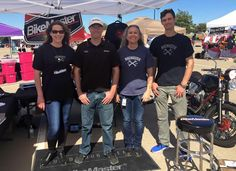 The BikeMaster Team at the Cabela's Police Motorcycle Rodeo.
