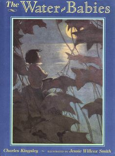 Today's vintage children's book, The Water-Babies, was written by Charles Kingsley (1819-1875) and illustrated by Jessie Willcox Smith (1863-1935).