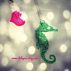 Cute! A Seahorse Necklace.