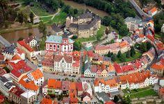 Castle Loket in the Czech Republic