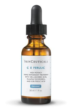 C E FERULIC, by Skinceuticals!!! C E Ferulic® is a revolutionary antioxidant combination that delivers advanced protection against photoaging by neutralizing free radicals, boosting collagen synthesis, and providing unmatched antioxidant protection