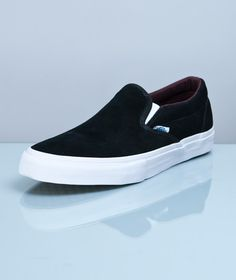 Vans-Slip-on Pro Black/Deep Mahogany