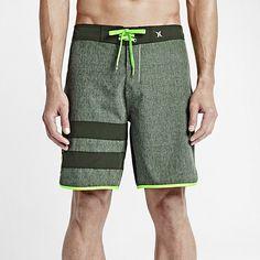 "Hurley Phantom Block Party Heather 19"" Men's Boardshorts. Nike Store"