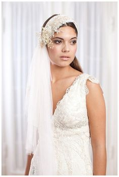 Our Alina veil www.janniebaltzer.com