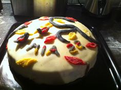 #autumn #birthday #cake Cake Art, Birthday Cake, Pudding, Autumn, Desserts, Food, Tailgate Desserts, Fall, Art Cakes