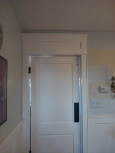 Is That A Faux Transom ?, Well No Its A Header I Built Above The Kitchen  Door . This Is A Faux Transom .