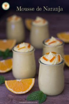 Food N, Good Food, Food And Drink, Yummy Food, Cooking Cake, Cooking Recipes, Orange Mousse, Sin Gluten, I Foods