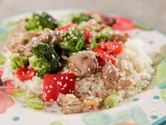Get Slow Cooker Chicken and Broccoli Recipe from Food Network