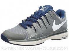 289e06bab2e9e Nike Zoom Vapor 9.5 Tour Grey Navy Men s Shoe - 10 US