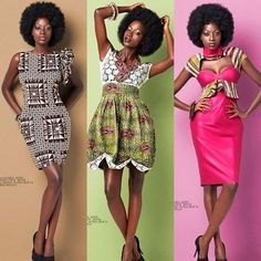 A beautiful collection from designer Reine Sonia Bouo of Cote d'Ivoire