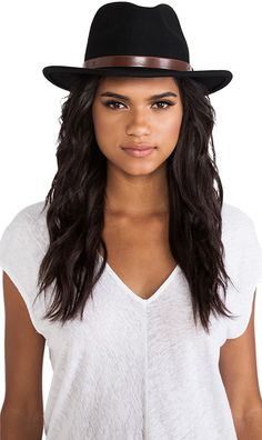 Shop for Brixton Messer Fedora in Black at REVOLVE. Alexis Unlimited ·  Fashion Hats for Women 773620ef53