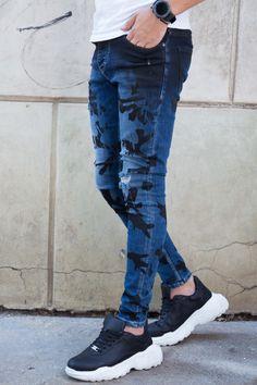 Blugi Slim COD B4722 Mom Jeans, Skinny Jeans, Cod, Slim, Pants, Style, Fashion, Trouser Pants, Swag