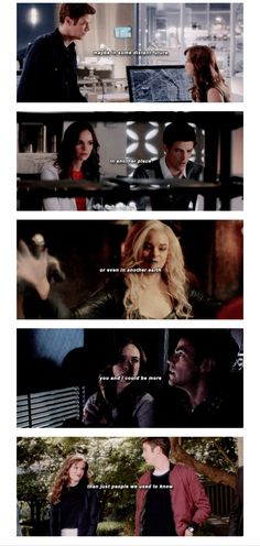 You and I could have been MORE than just people we used to know #snowbarry