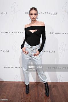 Gigi Hadid attends the Gigi Hadid x Maybelline New York International Launch Party on November 3, 2017 in New York City.