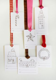 6th Street Design School: My Favorite Free Holiday Gift Tags