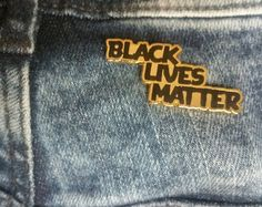 BLM Brooch by PeaceProspects on Etsy Rose Granger Weasley, Marvel Films, Hard Enamel Pin, Cool Pins, Character Aesthetic, Pin And Patches, Up Girl, Lapel Pins, Stranger Things