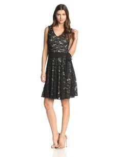 Allover Lace Dress by Julian Taylor