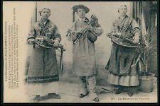 aaa40 Folk Music Bagpipe ethnic Europe original vintage old c1910s postcard
