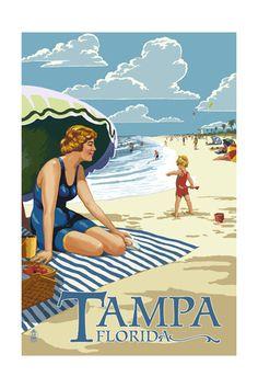 Tampa , Art and Prints at Art.com