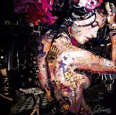 Beautiful Collage Works by Derek Gores | Abduzeedo | Graphic Design Inspiration and Photoshop Tutorials
