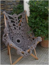 Crochet Chair Inspiration ❥ 4U // hf