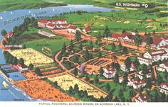 History Schroon Lake | Scaroon Manor Schroon Lake NY | Camp Schroon | Pinterest