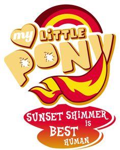 Sunset Shimmer BP logo by WX42 on DeviantArt