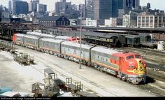 RailPictures.Net Photo: ATSF 311 Atchison, Topeka & Santa Fe (ATSF) EMD F7(A) at Chicago, Illinois by James Humbert