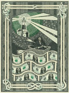 Mark Wagner's Currency Collage