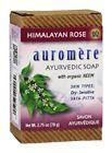 Auromere - Ayurvedic Bar Soap with Organic Neem Himalayan Rose - 2.75 oz.