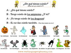 REAL LANGUAGE right away: Free Halloween Conversations and Supplemental Activities!-This is my FAV method of teaching Spanish