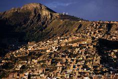 Canyon wall, Bolivia