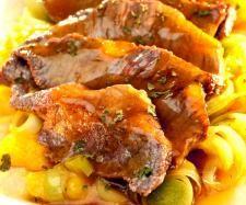 Receta Escalopines con salsa de mango por Thermomix Magazine - Receta de la categoria Carnes y aves Receta Escalopines con salsa de mango por Thermomix Magazine - Receta de la categoria Carnes y aves