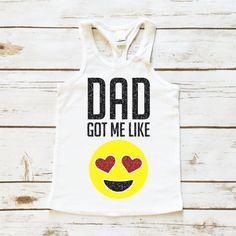 Dad Got Me Like | Toddler Tank Top