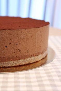 Trianon mousse au chocolat à base de pâte à bombe