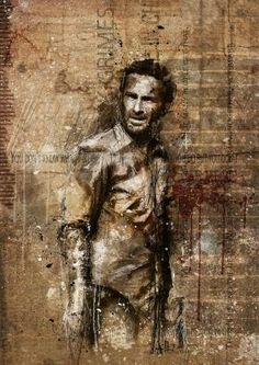 Grunge Rick Grimes...how awesome!