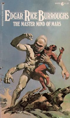 The Master Mind of Mars (1927) by Edgar Rice... | Vintage Science ...