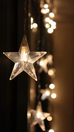 Gorgeous close up a star #fairylights if you had a set of star shaped fairy lights where would you place them?