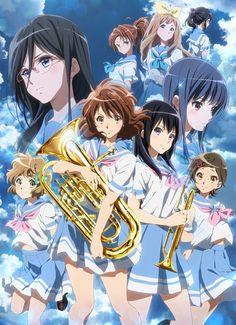 Nueva imagen promocional de la segunda temporada de Hibike! Euphonium.