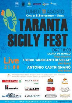CI SIAMO! E' arrivato il momento di supportarci, CONDIVIDETE! Spargete la voce, il Taranta Sicily Fest sta per arrivare.. Lasciatevi pizzicare! www.tarantasicilyfest.it #tarantafest #eventi #pizzica #tarantaroba