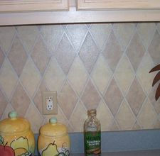 Backsplash Painting Idea