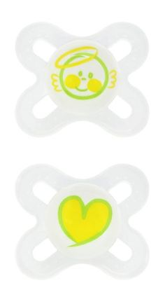 #MAM #2 Pack Start Orthodontic Silicone Pacifier, Colors may #vary   really love it!   http://amzn.to/HKdDgP