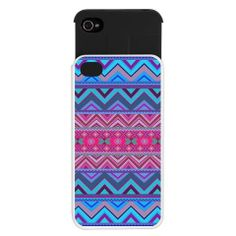 Tribal iPhone 4/4S Wallet Case - Mix #128 - Ornaart Design on Wanelo