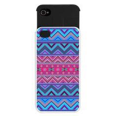 Tribal iPhone 4/4S Wallet Case - Mix #128 - Ornaart Design on Wanelo