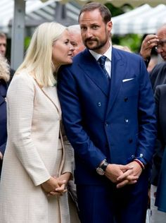 Royal Family of Norway visit Stavanger